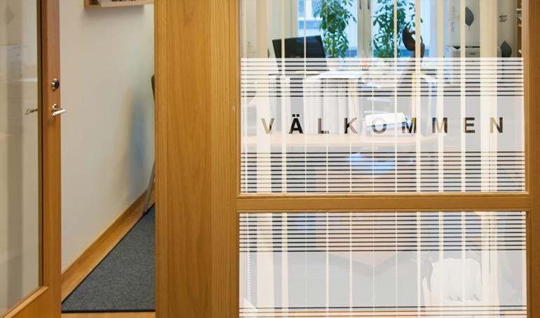 Frostade fönster DCD REKLAMBYRÅ